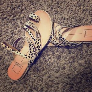 Dolce vita Nelly leopard sandals